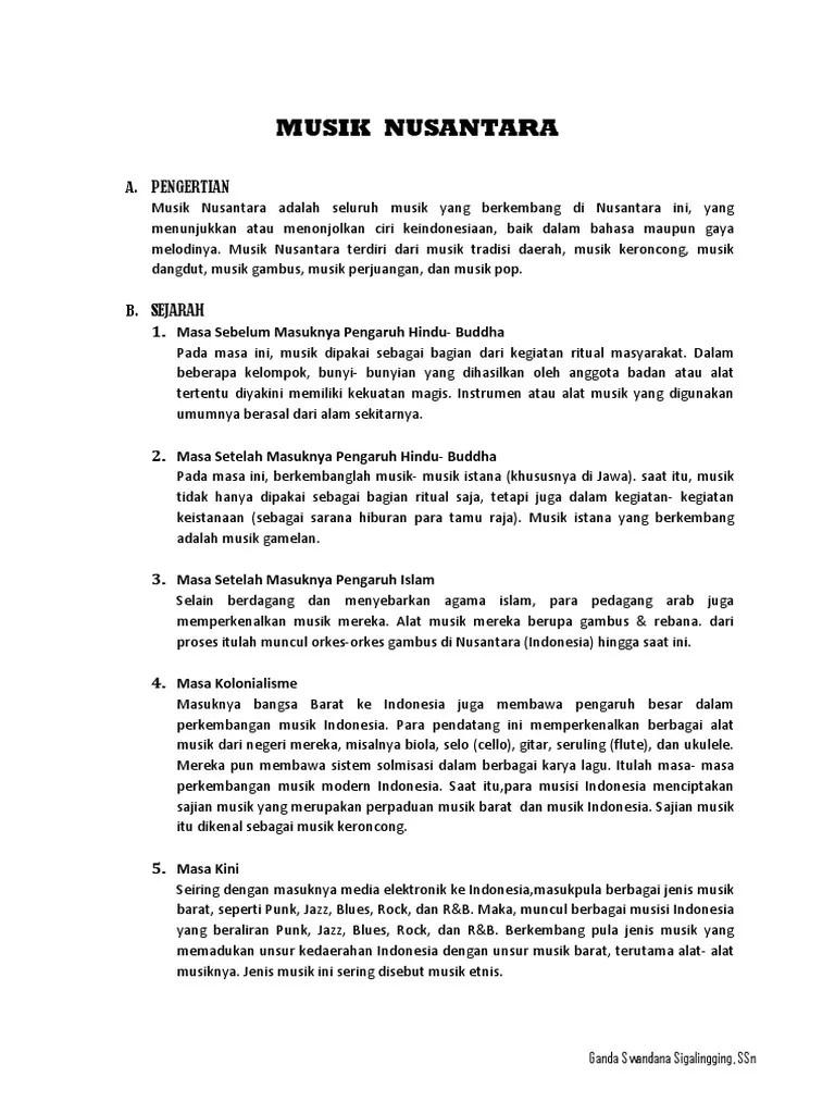 Macam Macam Musik Nusantara : macam, musik, nusantara, Paper, Musik, Nusantara