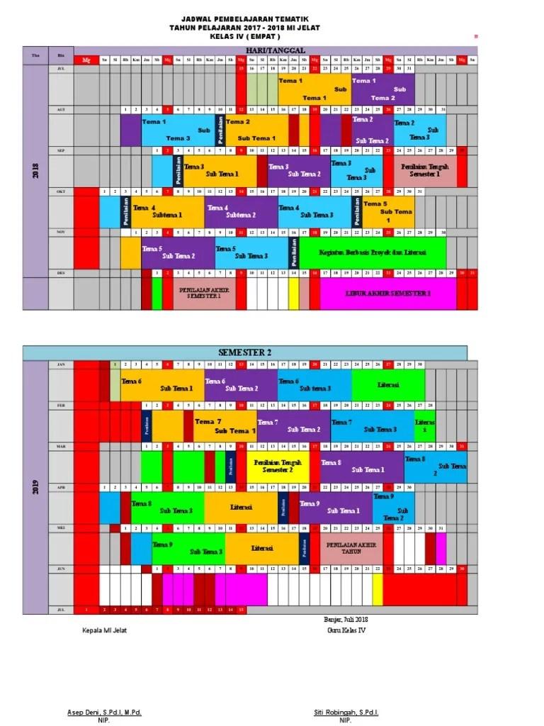 Jadwal Pelajaran K13 Kelas 4 : jadwal, pelajaran, kelas, Jadwal, Pelajaran, Kelas