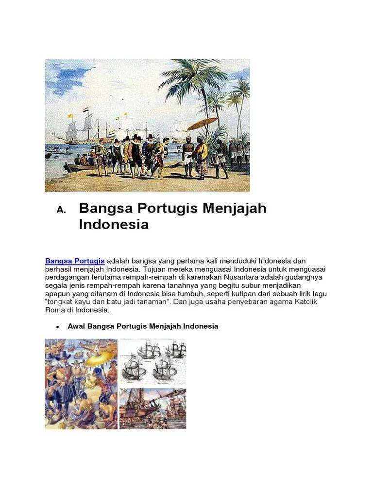 Bagaimana sejarah Inggris bisa sampai datang ke Indonesia