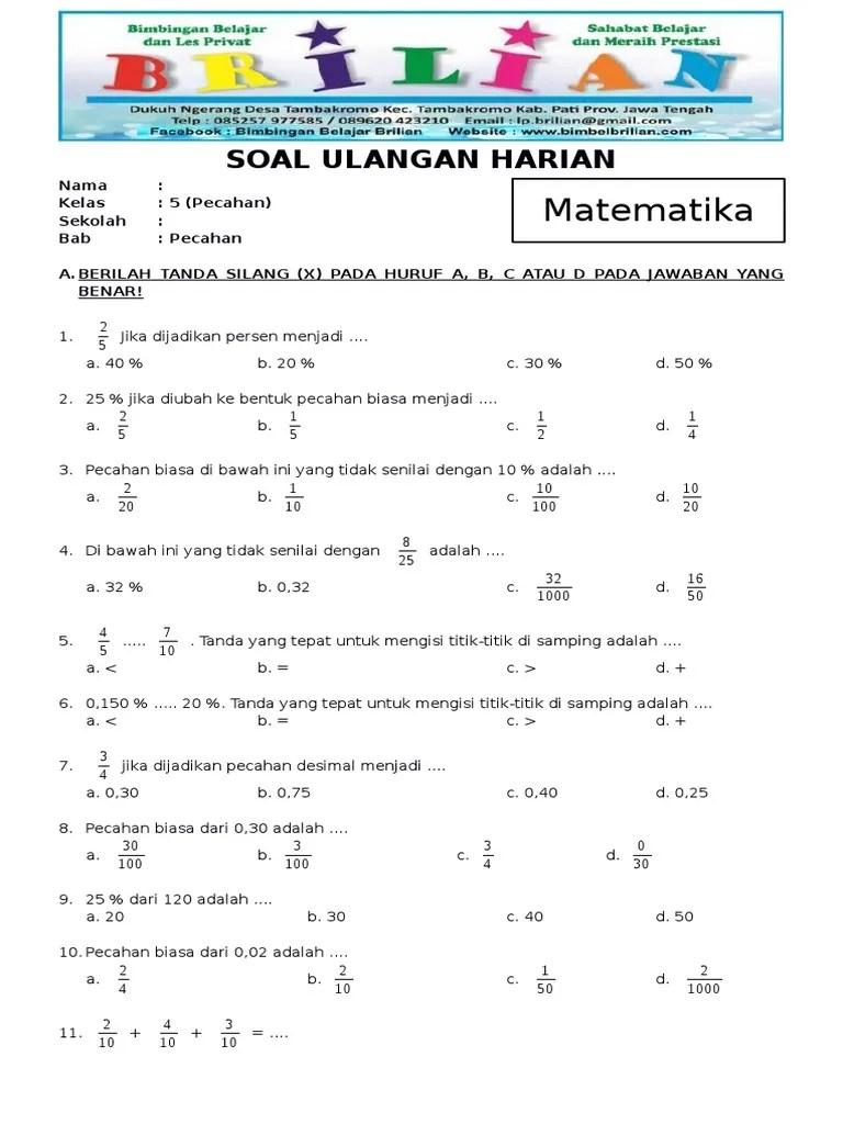 Soal Matematika Kelas 5 Sd Dan Penyelesaiannya : matematika, kelas, penyelesaiannya, Contoh, Cerita, Matematika, Kelas, Beserta, Jawabannya, Teacher