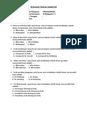 Saat Melakukan Servis : melakukan, servis, PENJASKES_ORKES, 8-1.pdf