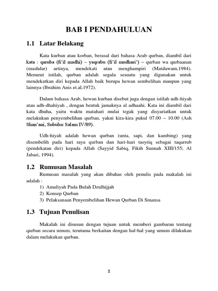 Makalah Tentang Qurban : makalah, tentang, qurban, Makalah, Kurban