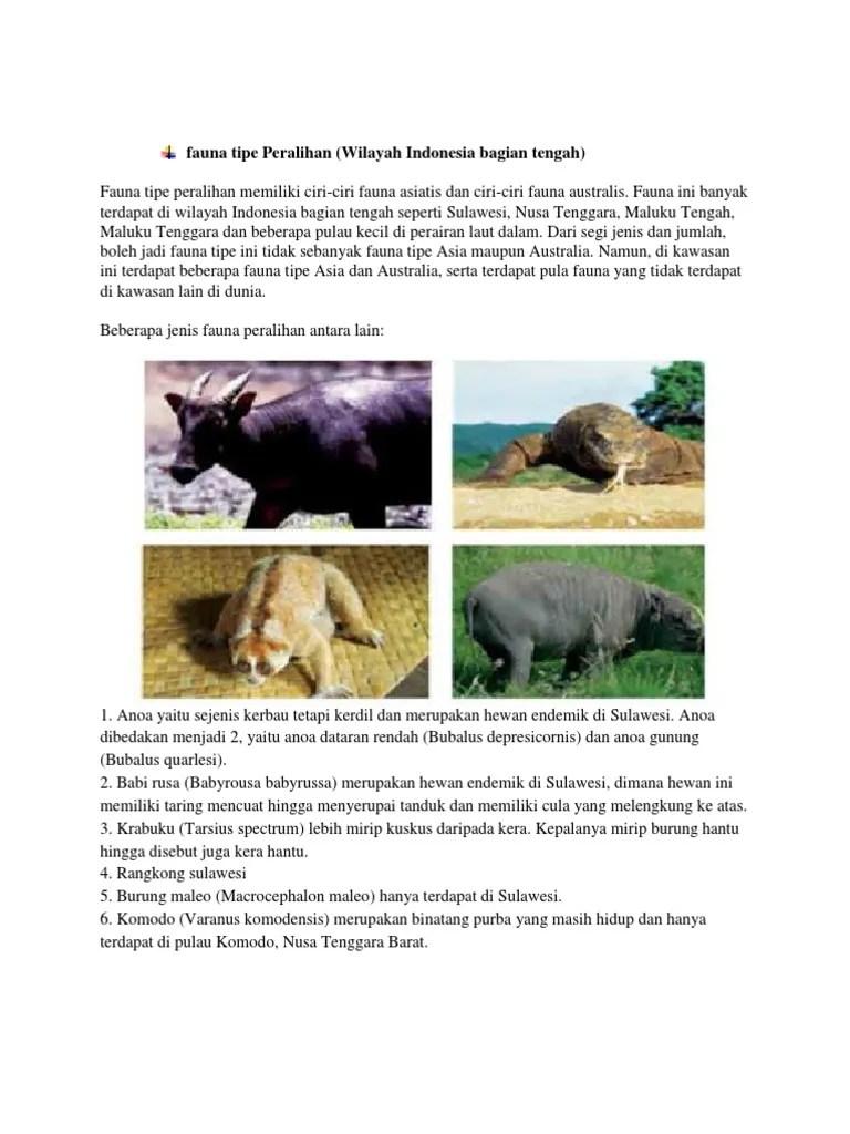 Pengertian Fauna Peralihan : pengertian, fauna, peralihan, Fauna, Peralihan