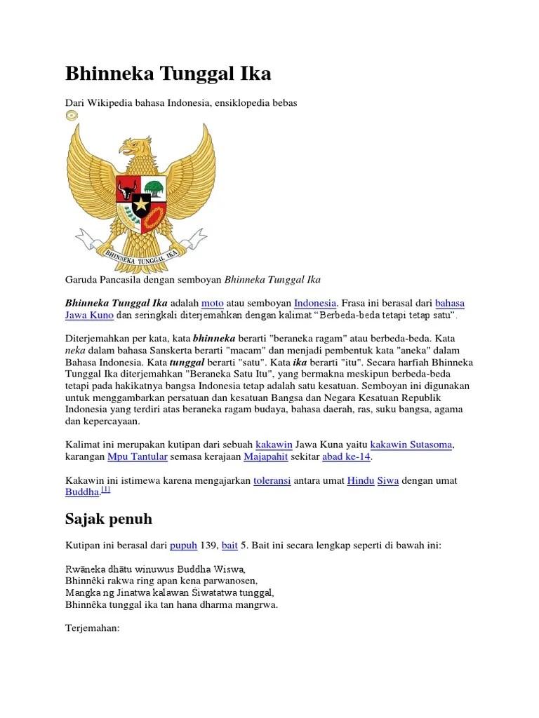 Bhineka Tunggal Ika Dari Kitab : bhineka, tunggal, kitab, Semboyan, Bhineka, Tunggal, Terdapat, Dalam, Dokter, Andalan