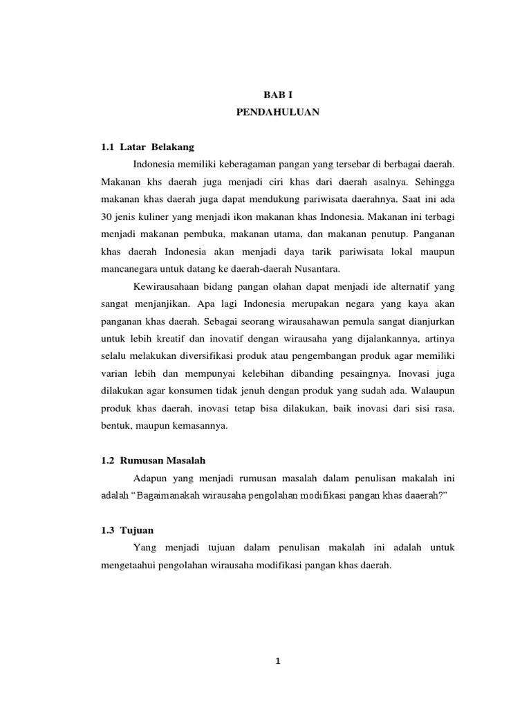 Proposal Makanan Khas Daerah : proposal, makanan, daerah, Makalah, Makanan, Daerah