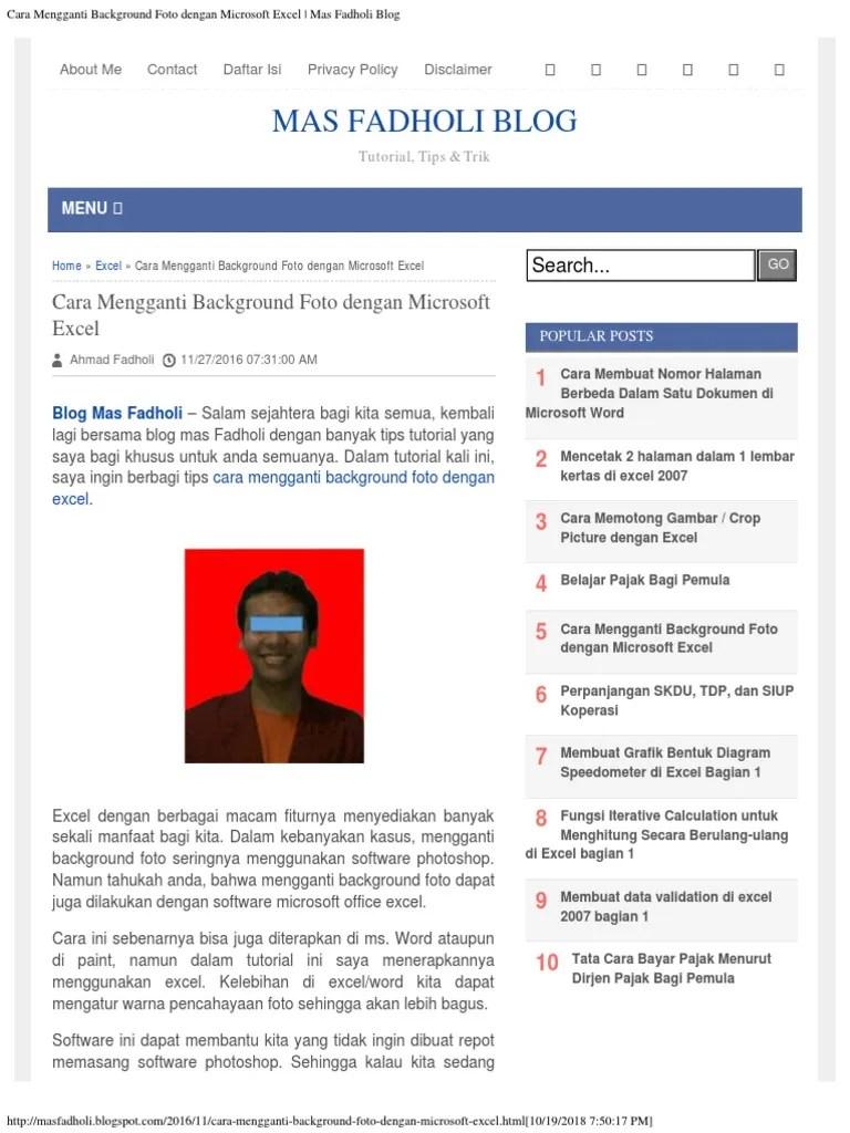 Cara Mengganti Background Word : mengganti, background, Mengganti, Background, Dengan, Gambar, Tempat, Berbagi