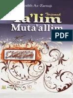 Terjemah Kitab Ta'lim Muta'alim - pontren.com