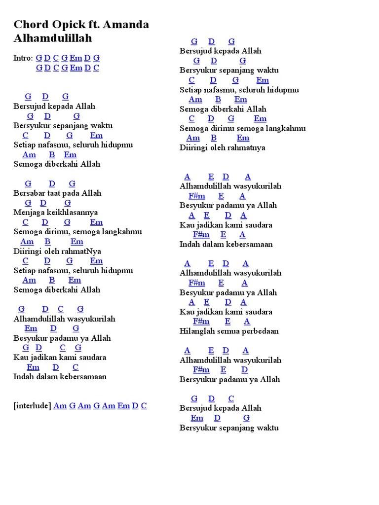 Lirik Lagu Selamat Hari Lebaran : lirik, selamat, lebaran, Selamat, Lebaran, Chord, KataKeren.com