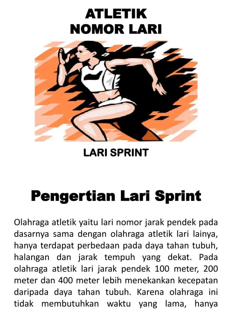 Pengertian Atletik Lari Jarak Pendek : pengertian, atletik, jarak, pendek, Lari-1