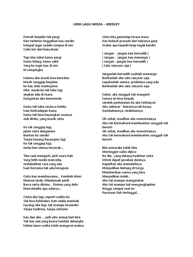Lirik Lagu Sudahi Perih Ini : lirik, sudahi, perih, Lirik