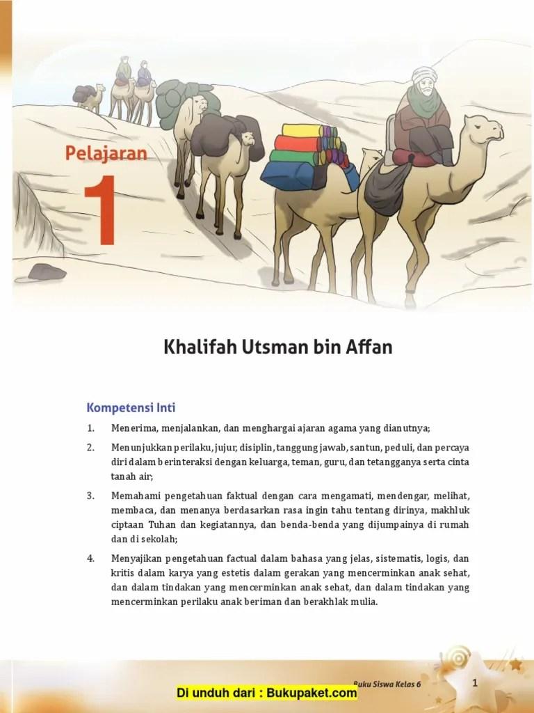 Keturunan Utsman Bin Affan : keturunan, utsman, affan, Pelajaran, Khalifah, Utsman, Affan