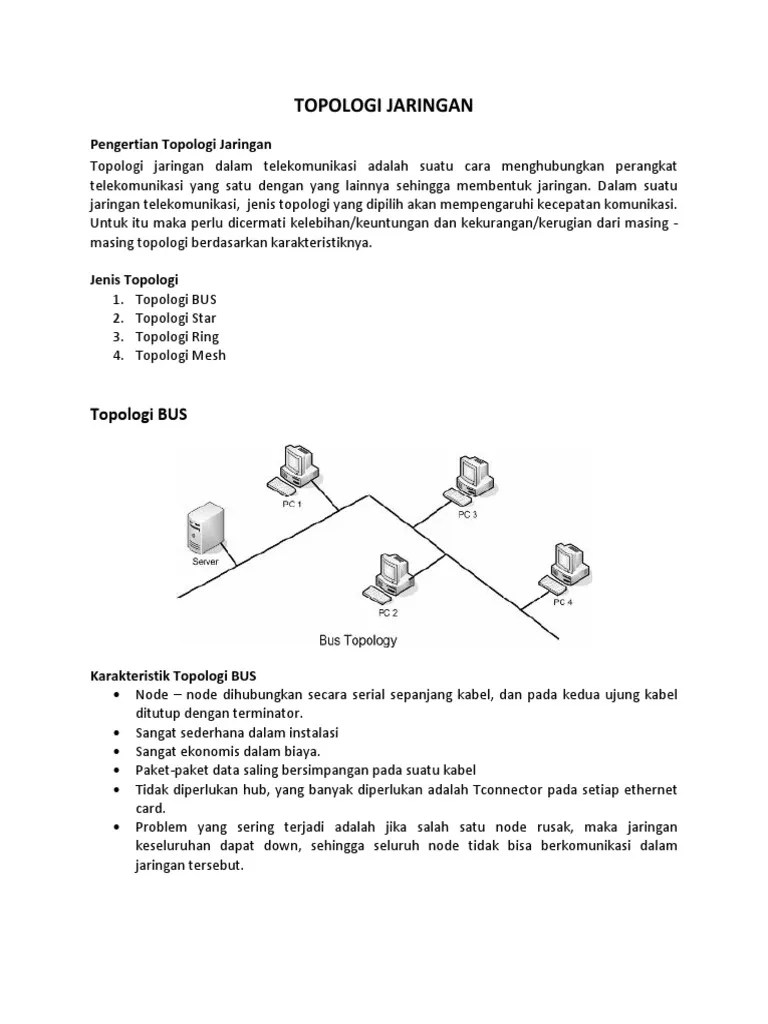 Keuntungan Dan Kerugian Topologi Mesh : keuntungan, kerugian, topologi, Pengertian, Topologi, Jaringan