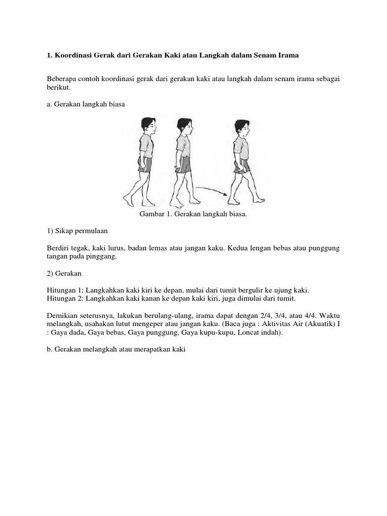 Senam Irama (Materi Penjas Orkes SMP/MTs Kelas 7)