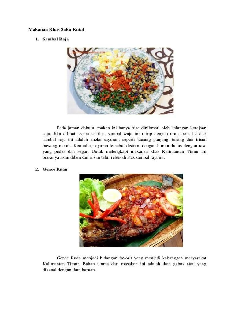 Makanan Khas Kalimantan Timur : makanan, kalimantan, timur, Makanan, Kutai