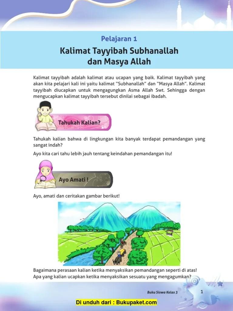 Arti Masyaallah Dan Subhanallah : masyaallah, subhanallah, Pelajaran, Kalimat, Tayyibah, Subhanallah, Masya, Allah, (2).pdf