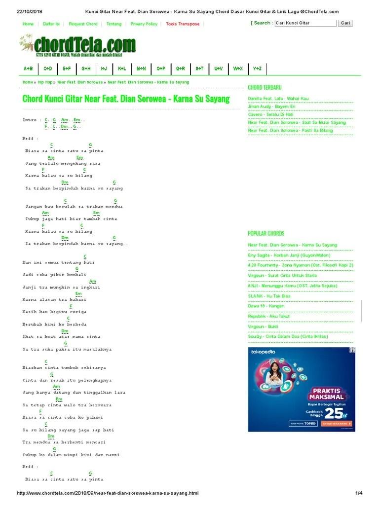 Chord Zona Nyaman Mudah : chord, nyaman, mudah, Andmesh, Kamaleng, Cinta, Biasa, Ukulele, Chords