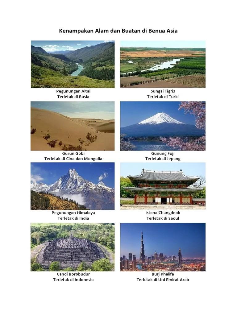 Kenampakan Alam Dan Buatan Di Benua Asia : kenampakan, buatan, benua, Tugas, Kenampakan, Buatan