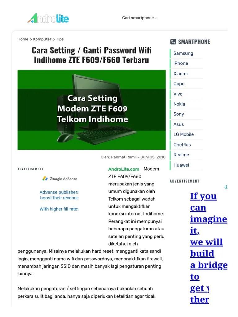 Lupa Password Modem Zte F609 : password, modem, Password, Modem, Indihome, Terbaru, Rebekkahfelch