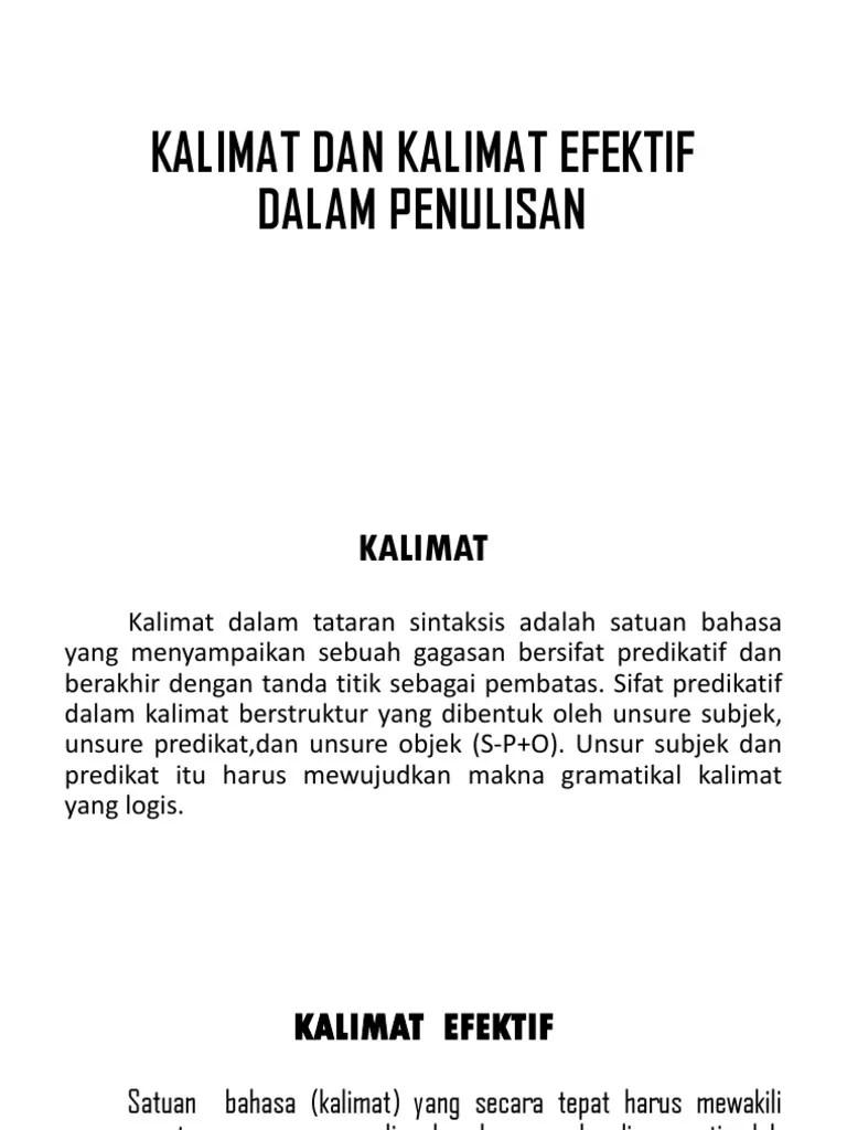 Penulisan Kalimat Langsung Menyampaikan Gagasan Secara Jelas, Lugas Dan Logis Disebut ..... : penulisan, kalimat, langsung, menyampaikan, gagasan, secara, jelas,, lugas, logis, disebut, ....., Bahasa, Indonesia