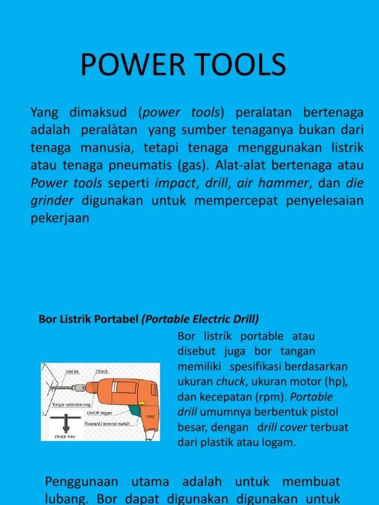 Jenis Jenis Power Tools : jenis, power, tools, Power, Tools