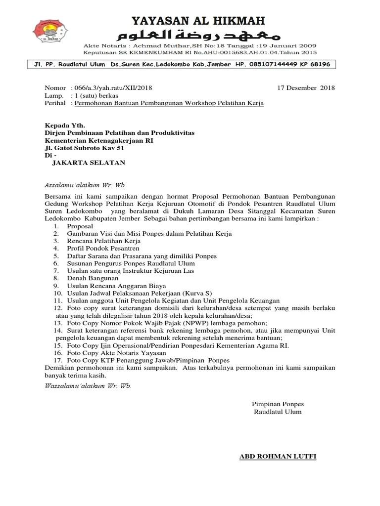 394355251 Proposal Blk Pondok Pesantren