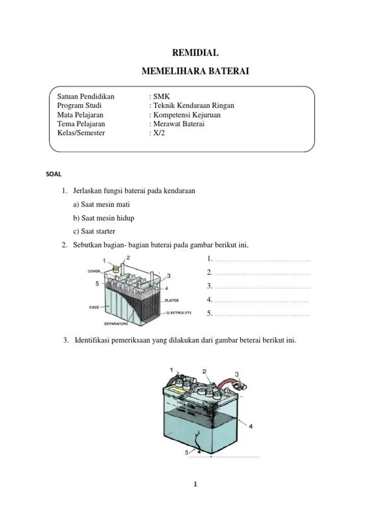Bagian Bagian Baterai : bagian, baterai, Sebutkan, Bagian, Baterai, Jelaskan, Fungsi, Masing