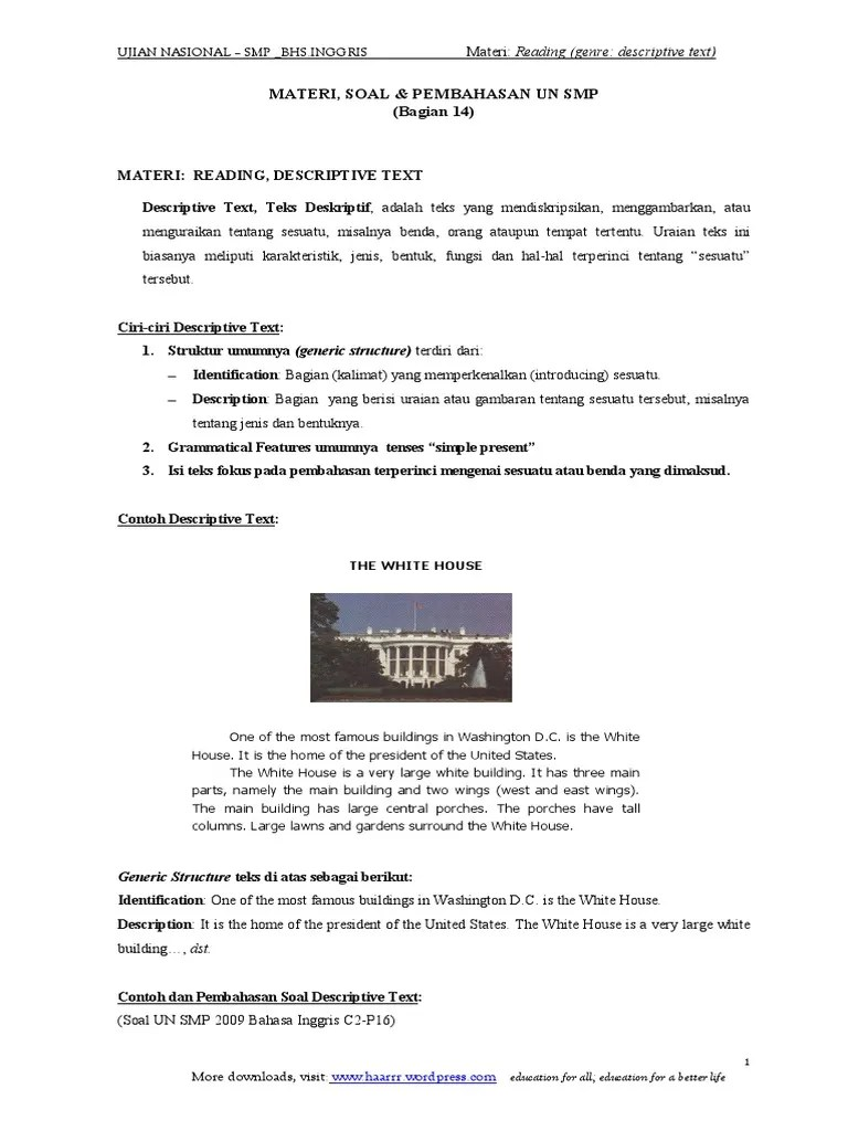 Descriptive Text Tentang Benda : descriptive, tentang, benda, Reading_genre_descriptive-text.pdf, Aquatic, Ecology