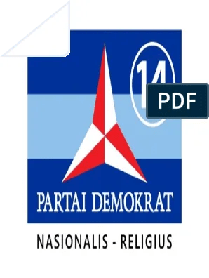 Logo Demokrat Png : demokrat, Lambang, Partai, Demokrat, Nomor
