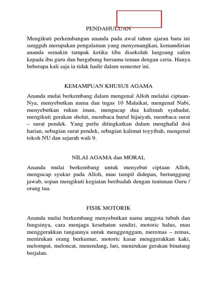 Pesan Guru Di Raport : pesan, raport, Contoh, Komentar, Orang, Raport, IlmuSosial.id