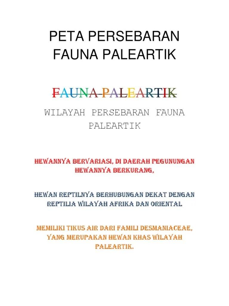 Persebaran Fauna Paleartik : persebaran, fauna, paleartik, Persebaran, Fauna, Paleartik