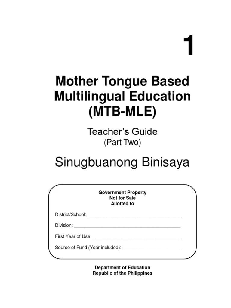 hight resolution of MTB-MLE Elements - TG_sinugbuanong Binisaya   Monopoly (Economics)   Social  Institutions
