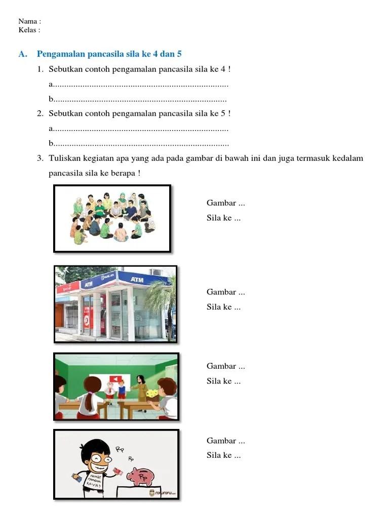 Contoh Gambar Pengamalan Pancasila : contoh, gambar, pengamalan, pancasila, Perilaku