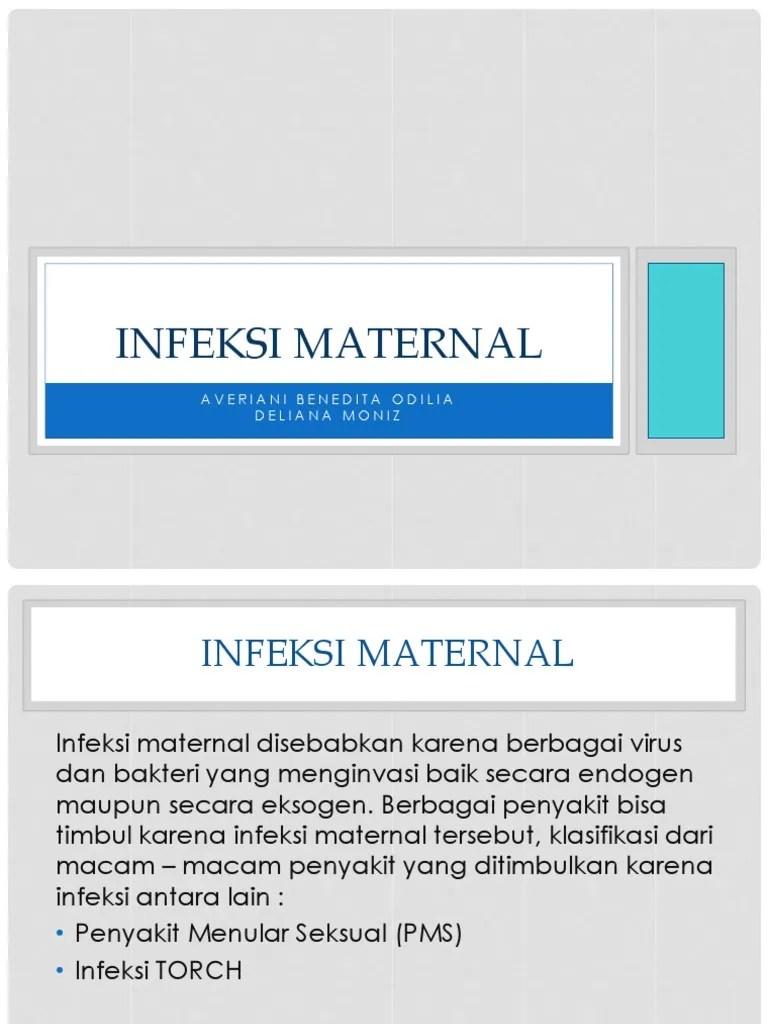 Infeksi Maternal