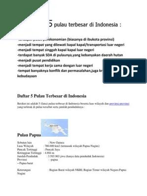 Sebutkan 5 Pulau Besar Di Indonesia : sebutkan, pulau, besar, indonesia, Pulau, Besar, Indonesia, Goreng