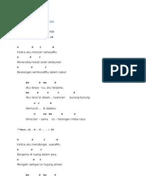 Lagu Threesixty Dewi : threesixty, Kunci, Gitar, Jawaban, Dibalik, Senyuman, IlmuSosial.id
