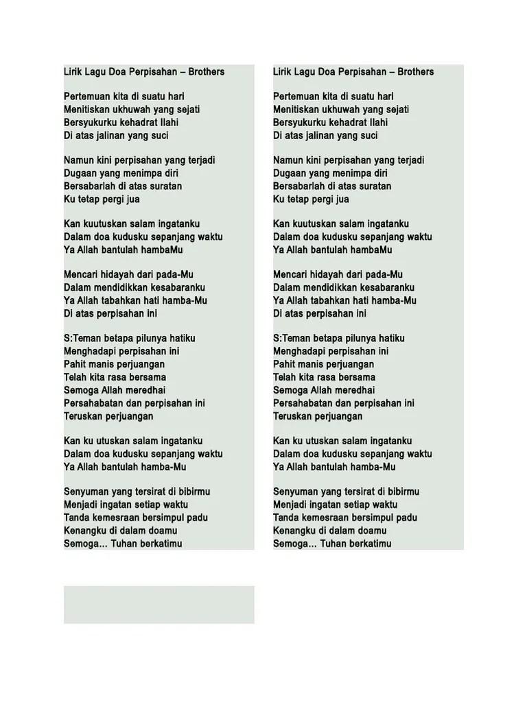 Lirik Lagu Perjuangan dan Doa - Rhoma Irama - KapanLagi.com