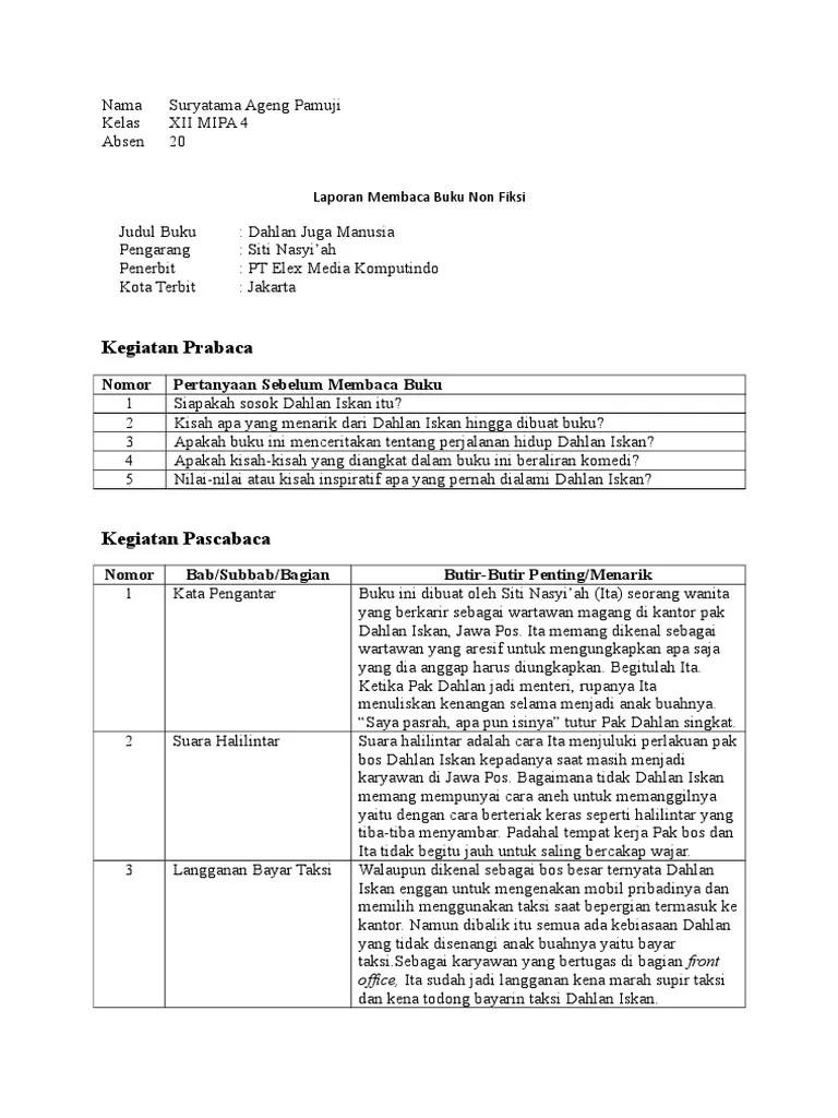 Laporan Membaca Buku Non Fiksi : laporan, membaca, fiksi, Mengidentifikasi, Novel, Fiksi