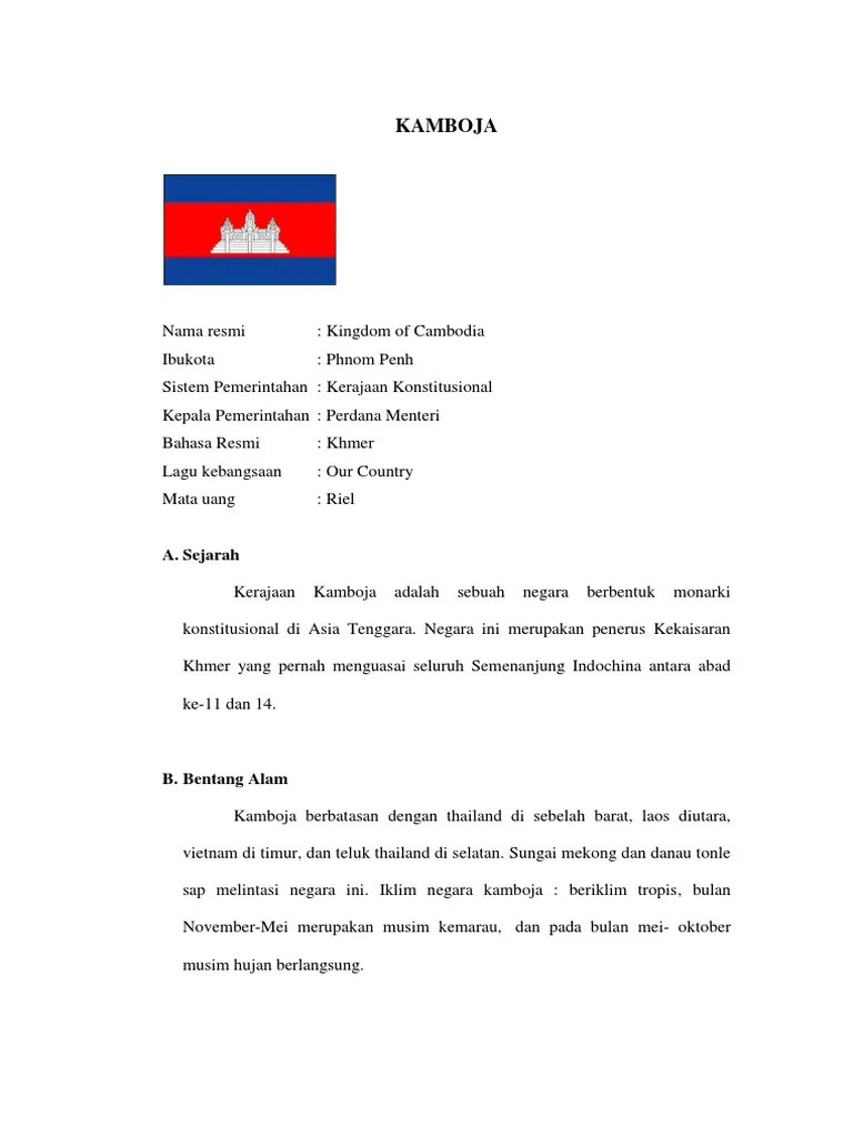 Bentang Alam Kamboja : bentang, kamboja, KAMBOJA