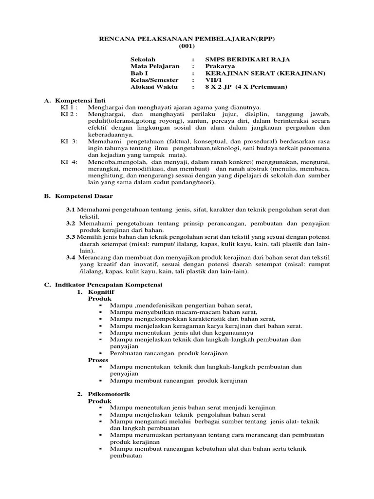 Langkah-langkah Pengolahan Bahan Serat : langkah-langkah, pengolahan, bahan, serat, ON.docx