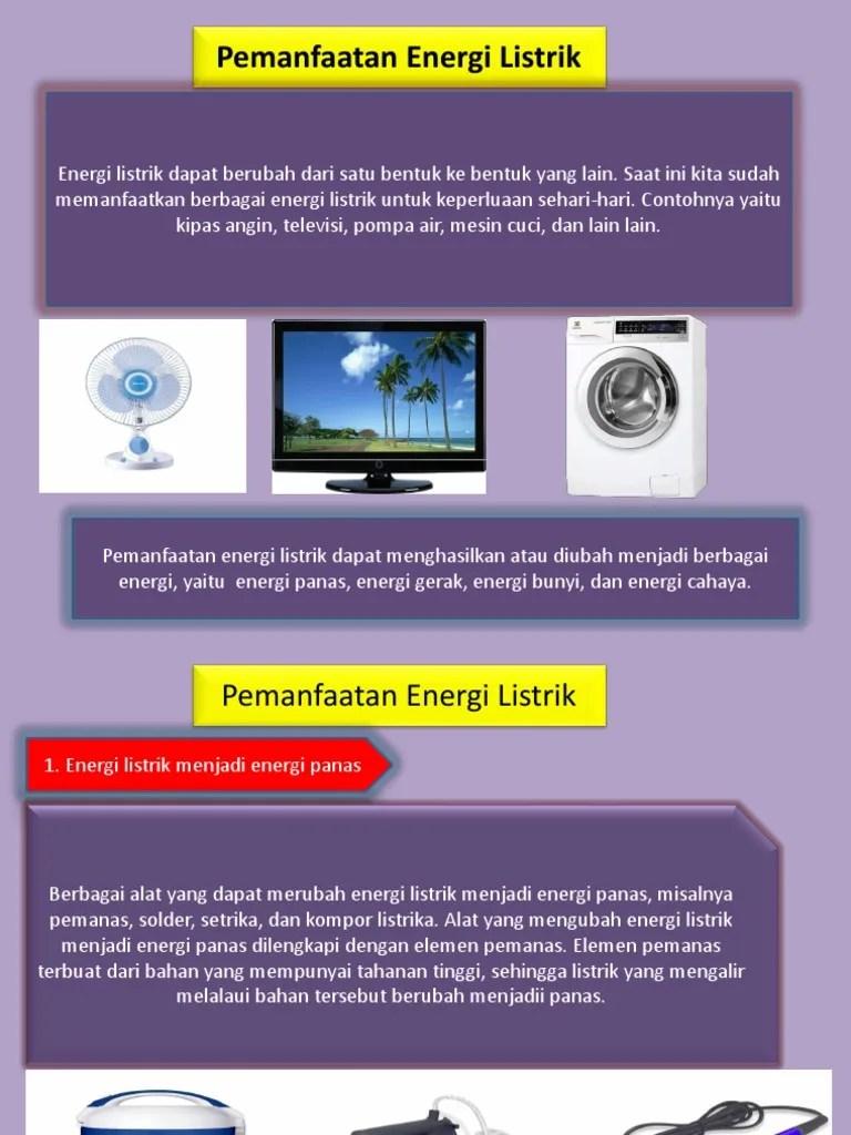 Perubahan Energi Listrik Menjadi Energi Gerak : perubahan, energi, listrik, menjadi, gerak, Perubahan, Energi, Listrik, Menjadi