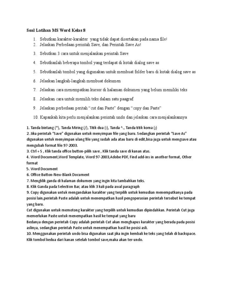 3 Cara Untuk Menjalankan Perintah Save : untuk, menjalankan, perintah, Latihan, Kelas