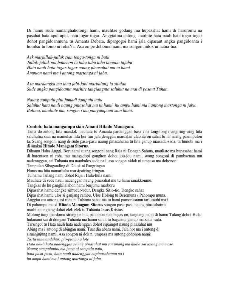 Pomparan Tuan Sihubil.Sapalatua Tampuk Nabolon - Posts
