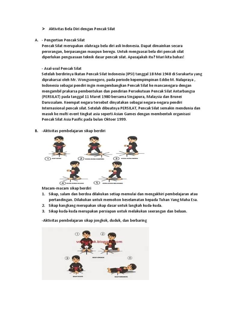 Pengertian Olahraga Beladiri : pengertian, olahraga, beladiri, Aktivitas, Dengan, Penccak, Silat