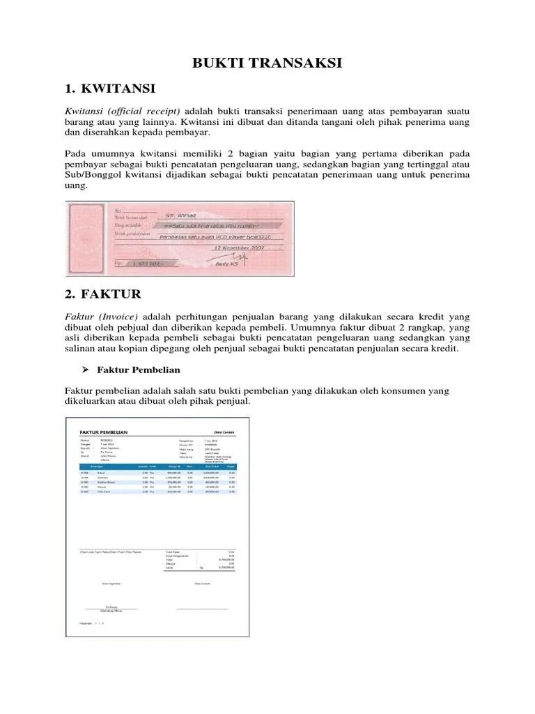 Bukti Transaksi Pembelian Barang Yang Dilakukan Secara Kredit Yaitu : bukti, transaksi, pembelian, barang, dilakukan, secara, kredit, yaitu, BUKTI, TRANSAKSI, NEW.docx