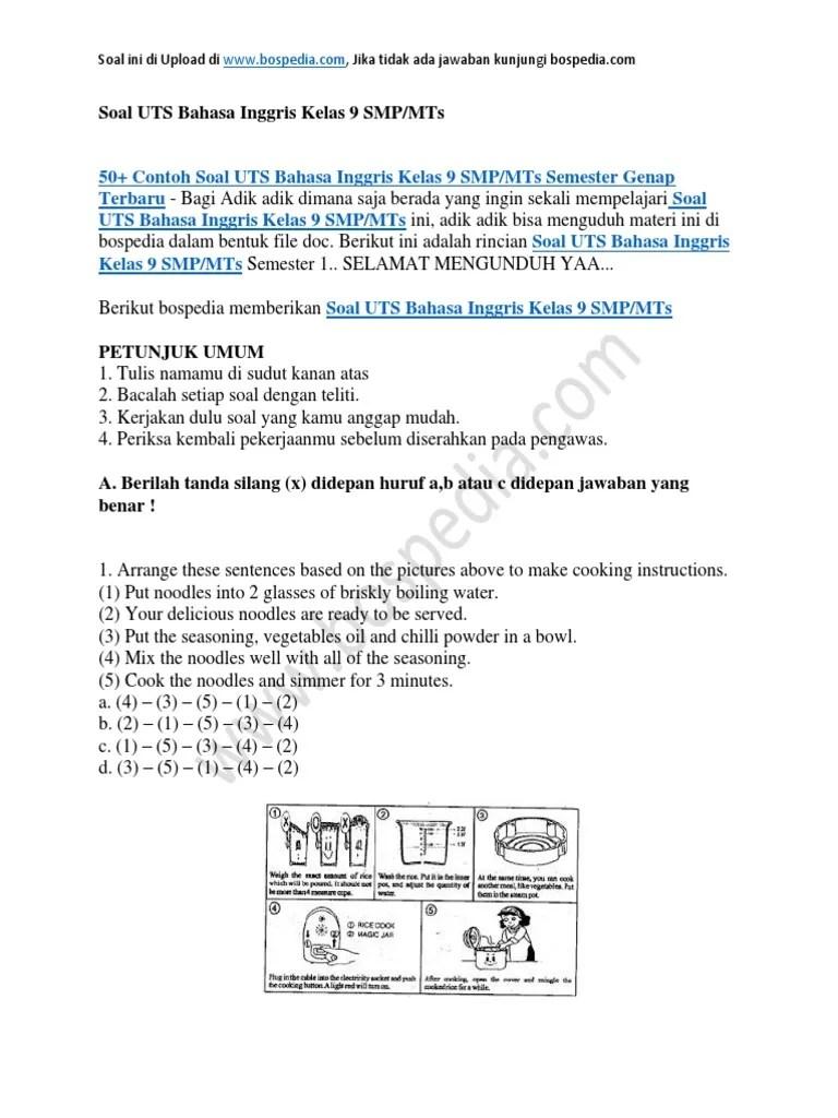 Contoh Soal Dan Jawaban Bahasa Inggris Kelas 11 Semester 2 Berbagi Contoh Soal Cute766