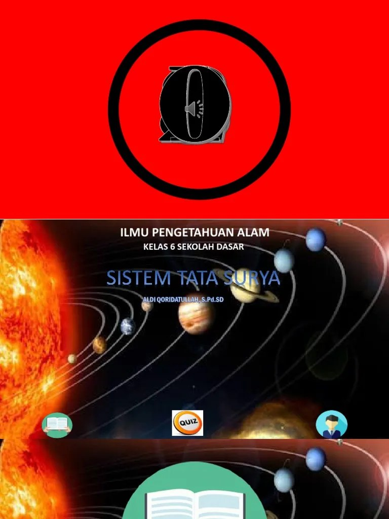 Sistem Tata Surya Kelas 6 : sistem, surya, kelas, Materi, Sistem, Surya