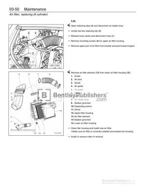 Audi A4 (B6, B7) Repair Manual: 20022008  Excerpt