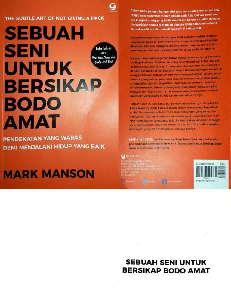 Sebuah Seni Bersikap Bodo Amat Pdf : sebuah, bersikap, SEBUAH, UNTUK, BERSIKAP, AMAT.pdf
