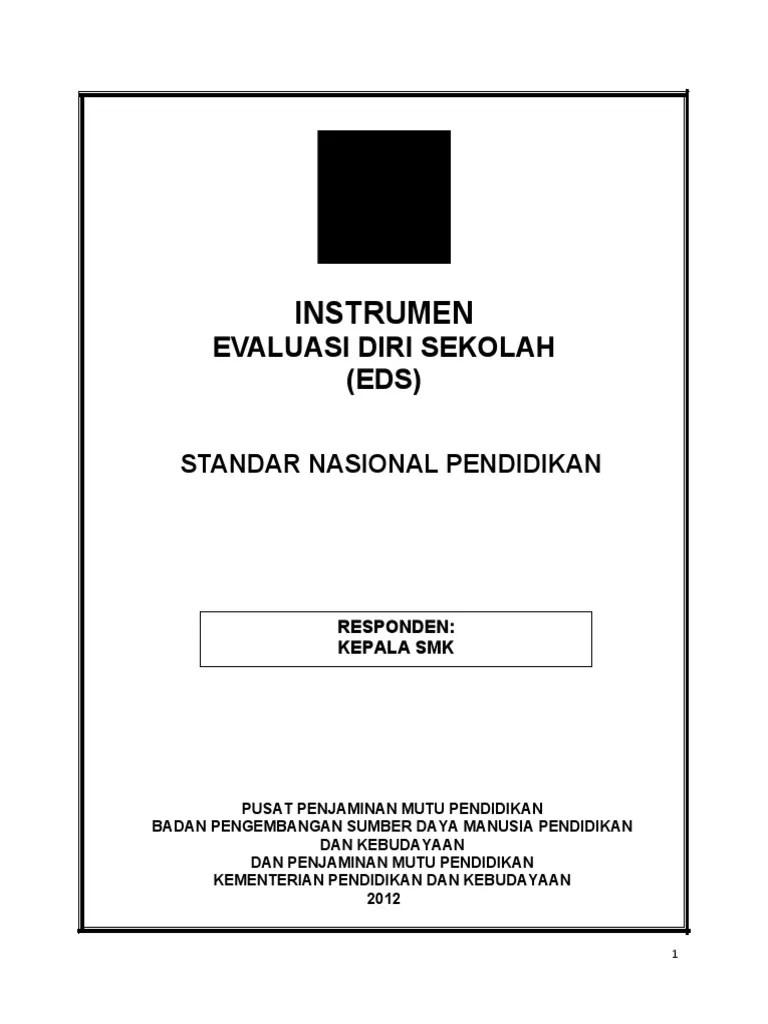 Evaluasi Diri Sekolah Doc : evaluasi, sekolah, Angket, KEPALA, SEKOLAH, SMK.doc