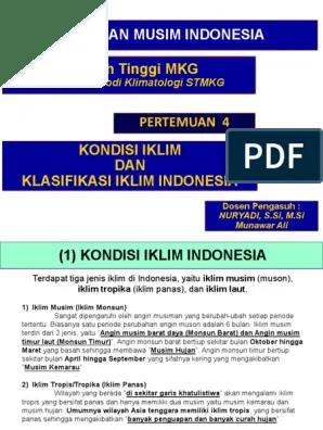 3 Jenis Iklim Di Indonesia : jenis, iklim, indonesia, Indonesia, Terdapat, Jenis, Iklim, Yaitu, Rasanya